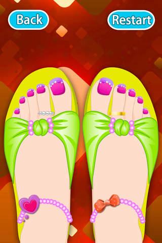 Dream Toes-Dress up games screenshot 4