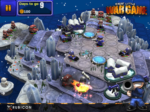 Great Little War Game HD Lite screenshot 6