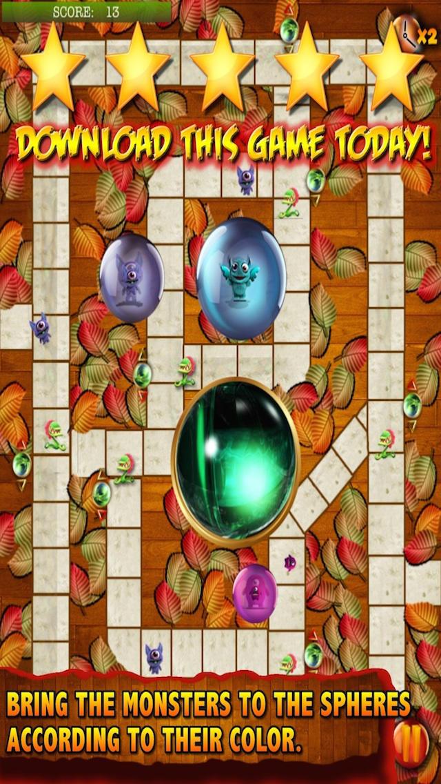 Amazon Magic Monsters - addictive mental brain training board game Free Version screenshot 1