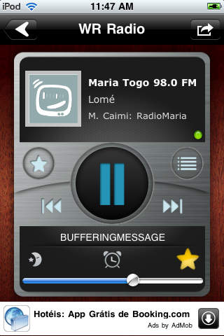 WR Togo Radios screenshot 1