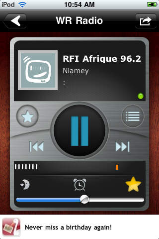 WR Niger Radios screenshot 1