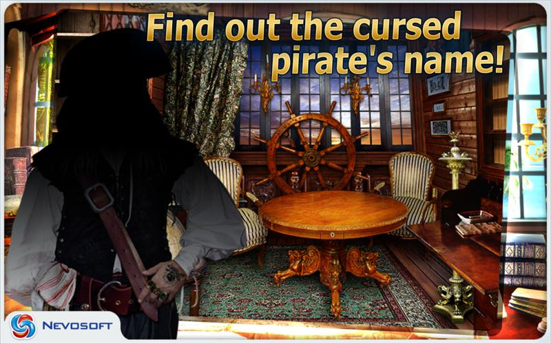 Pirate Adventures: hidden object game screenshot 4