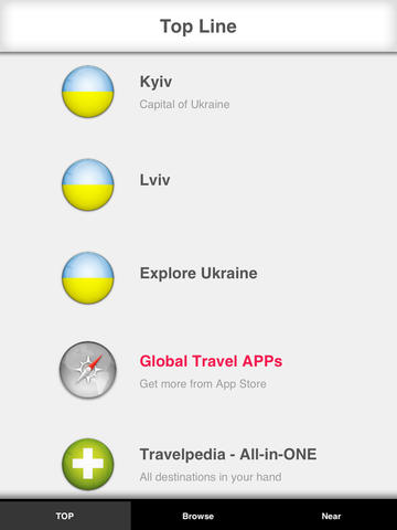 Ukraine Travelpedia screenshot 7