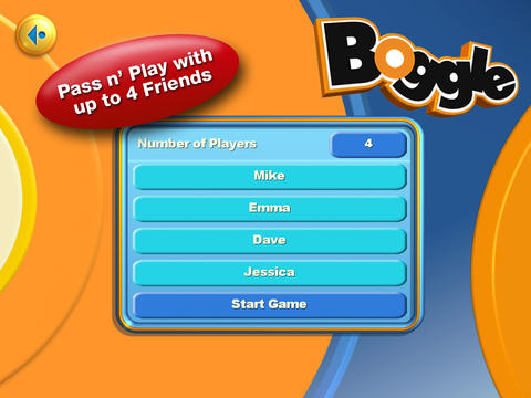 BOGGLE for iPad screenshot 3