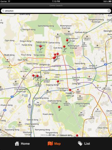 Seoul Travel Map screenshot 7