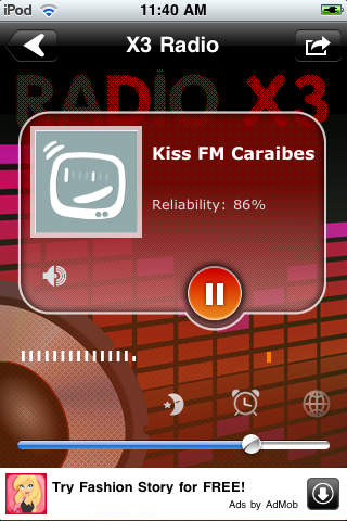 X3 Burkina Faso Radio - Les radios du Burkina Faso screenshot 1