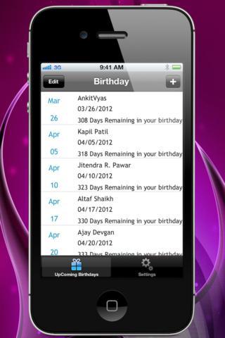 My Birthday for Facebook screenshot 5