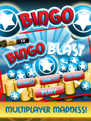 Bingo Blast Casino Card Blitz HD - Vegas & Macau Style Lotto Jackpot Game Multiplayer Free screenshot 5