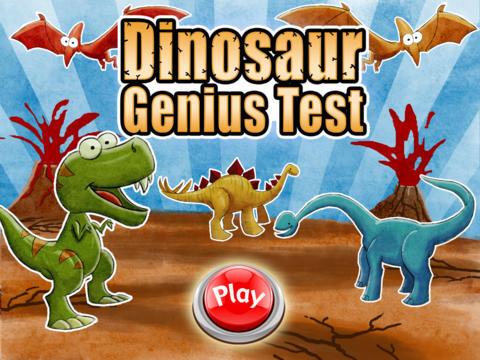 A Dinosaur Genius Test - Free Puzzle Game screenshot 5