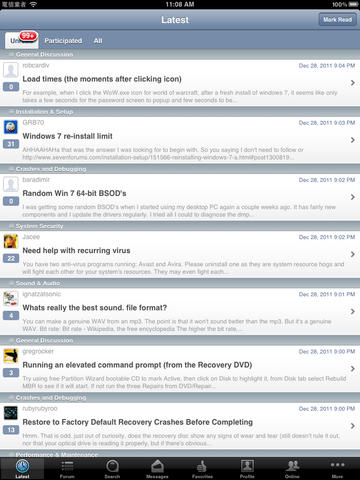 Seven Forums screenshot 7