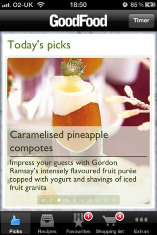 Good Food Healthy Recipes screenshot #2