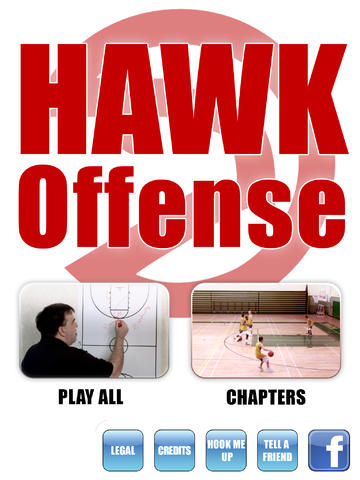HAWK Offense: Scoring Playbook - with Coach Lason Perkins - Full Court Basketball Training Instruction - XL screenshot 1