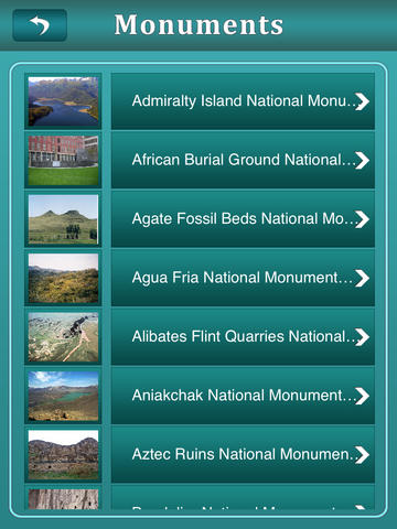 National Monuments of USA screenshot 8