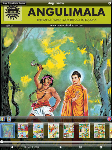 Buddha And Angulimala Double Digest - Amar Chitra Katha Comics screenshot 7