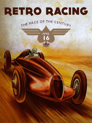 Retro Race 3D - Top Speed Racing Game screenshot 4