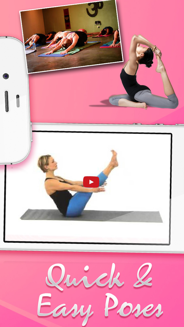 Basic Pilates & Yoga Studio for Beginners Stretching Back, Neck & Shoulder Pain Physio-Therapy screenshot 4