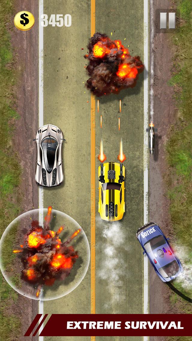 Airbound Theft Race screenshot 3