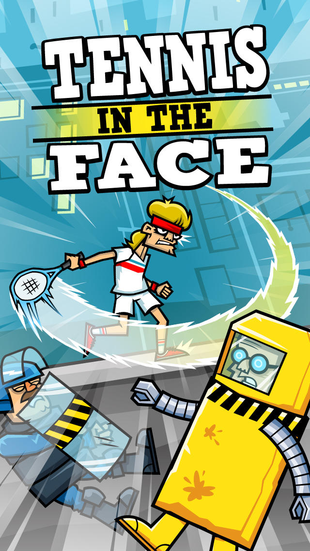 Tennis in the Face screenshot #1
