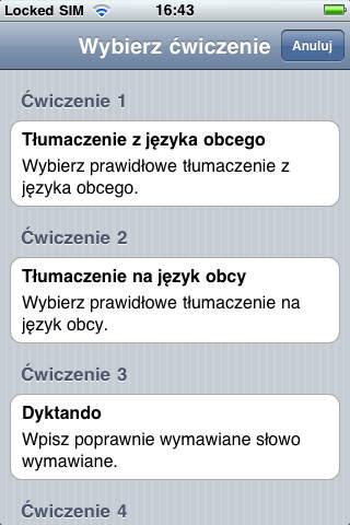 Trener Słownictwa Jourist. Europa Południowa i ... screenshot 4