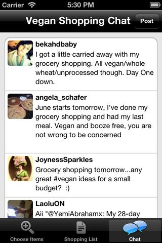 Vegan Shopping List screenshot 4