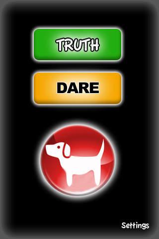*FREE* Truth Dare or Double Dog Dare Lite screenshot 1