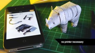 Tiny Paper Zoo Plus screenshot #1