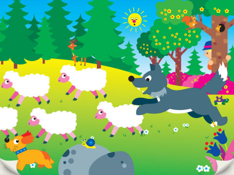The Lying Shepherd - interactive book for children screenshot 10