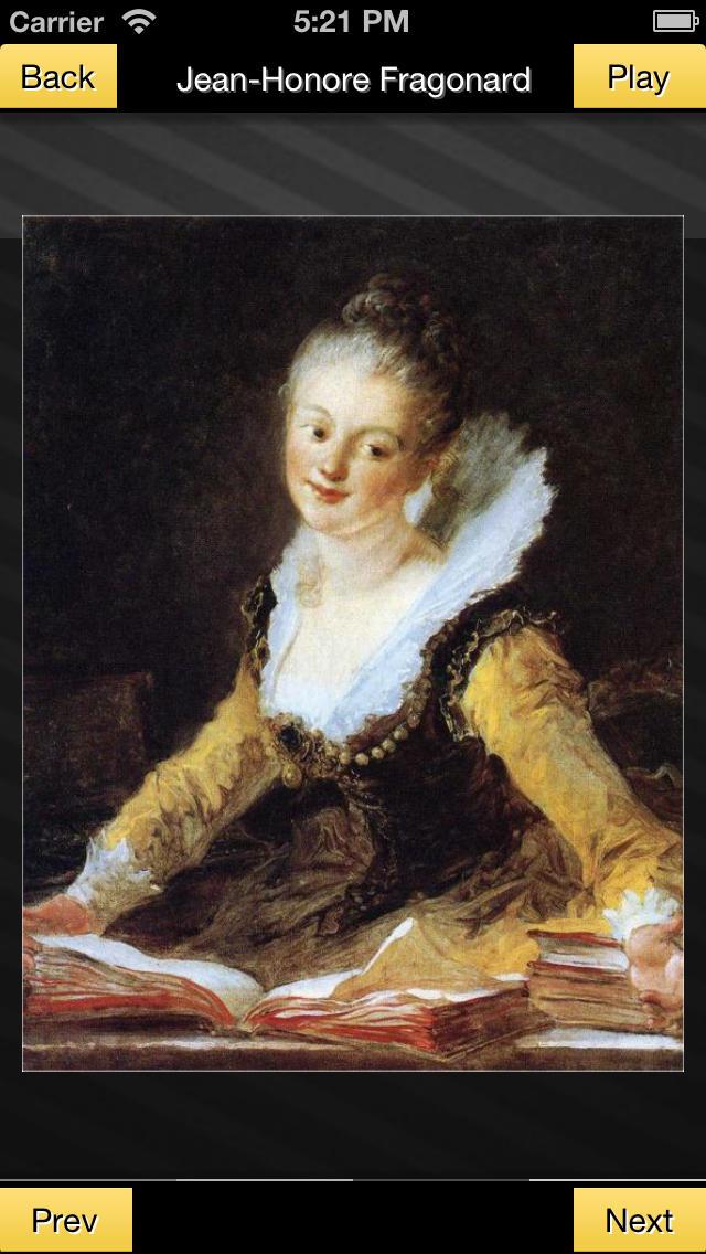 Jean-Honore Fragonard screenshot 4