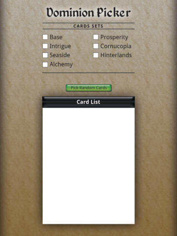 Dominion Picker Free - náhled