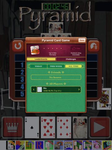 Pyramid Card Game FVD screenshot 7