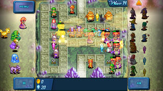 CRYSTAL DEFENDERS Plus screenshot 5