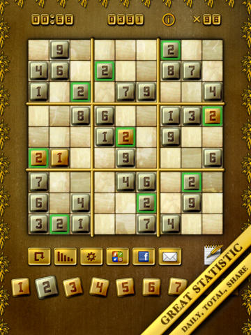 Sudoku Search Mania HD Free - The Full Classic Puzzle Quest Searching Party Pack for iPad screenshot 6