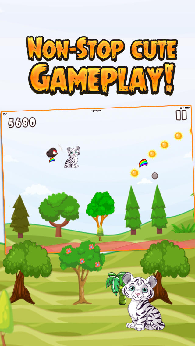 Little Tiger Jungle Jump screenshot 3
