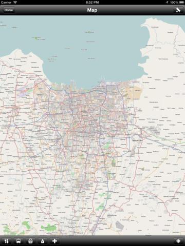 Offline Jakarta, Indonesia Map - World Offline Maps screenshot 8