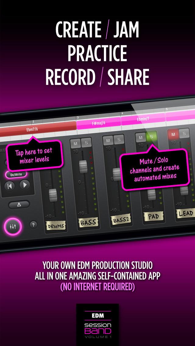 SessionBand EDM 1 screenshot 5