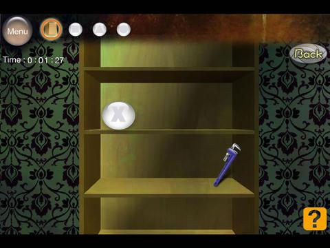 Escape 1 - Backroom HD Free screenshot 9