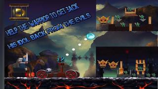 Eye Of Red & Horror Catapult Balls of Fire - Free screenshot 2