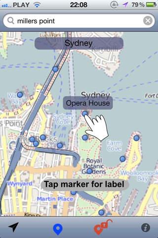 Roam Free Sydney - Offline Map - náhled