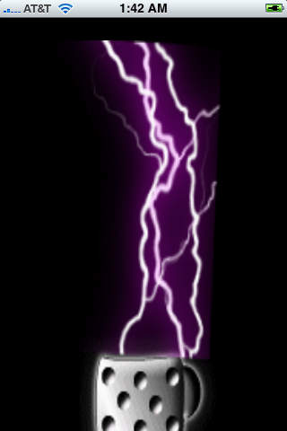 multi color concert lighter with lightning screenshot 3