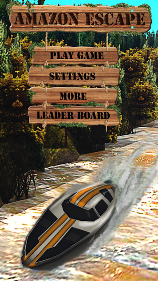 Amazon Escape – Powerboat River Rio Racing on the Amazon + Race Speed Boats + Jet Boats + P1 Racer Free screenshot 1