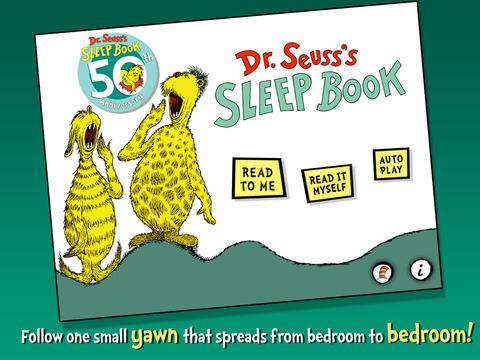 Dr. Seuss's Sleep Book screenshot 5