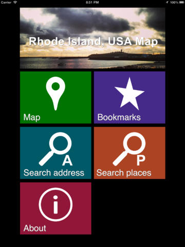Offline Rhode Island, USA Map - World Offline Maps screenshot 7