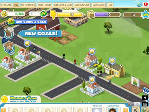 SocialGames - Play Free Flash Games with friends on Facebook for iPad screenshot 1