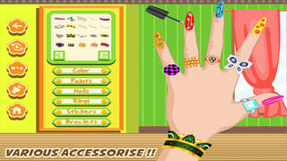 Girl Nail Art screenshot 4