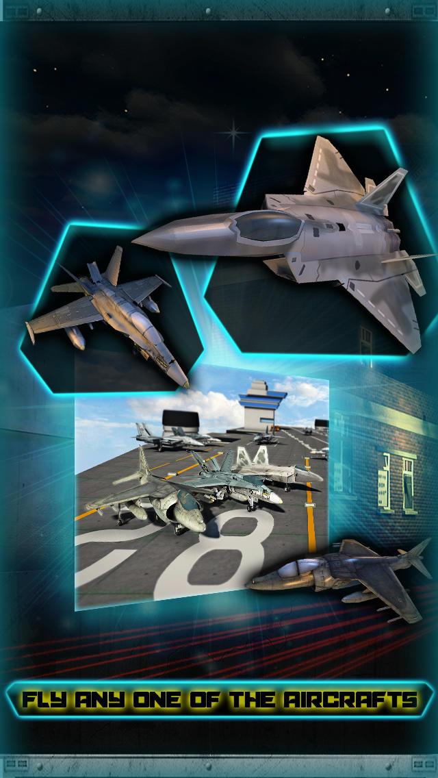 F18 Fighter Jet Flight Simulator 3D screenshot 2