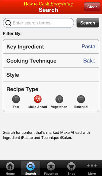 How to Cook Everything for iPhone screenshot #4