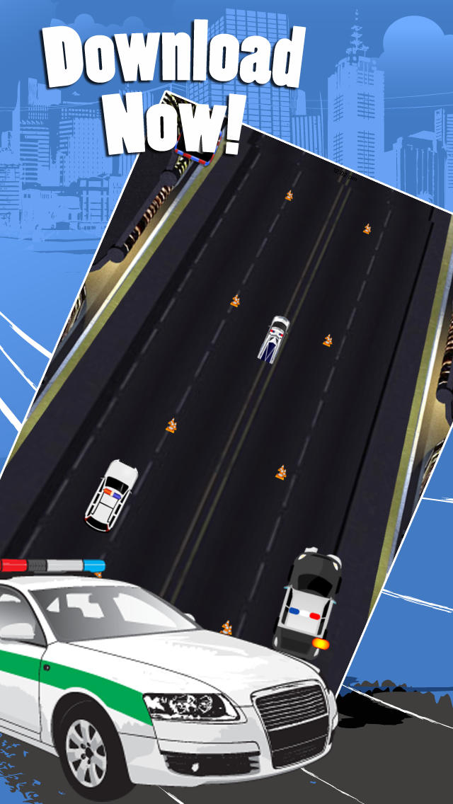 Furious Nitro Cop Escape Pro screenshot 5
