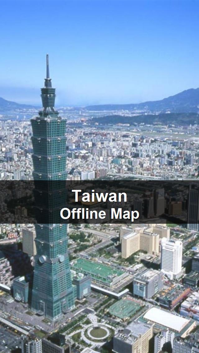 Offline Taiwan Map - World Offline Maps screenshot 1