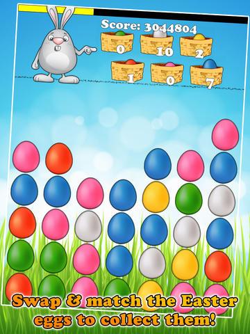 Easter Crazy - Free Swap & Match Eggs Mania screenshot 5