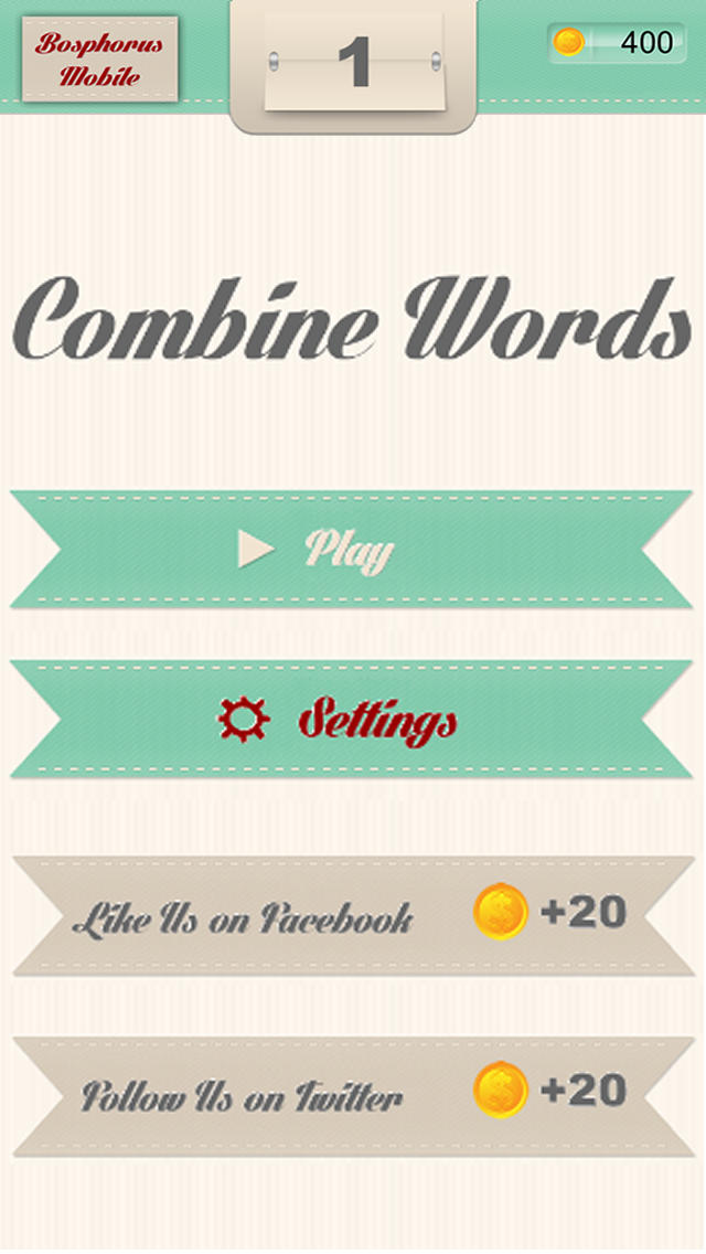 Combine Words - 2 Pics 1 Word Puzzle screenshot 5